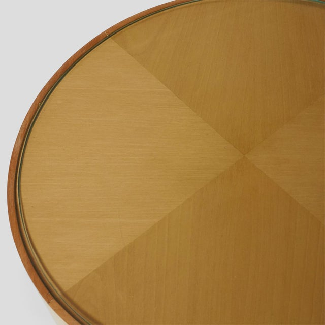 White Pair of Joaquim Tenreiro Side Tables For Sale - Image 8 of 10