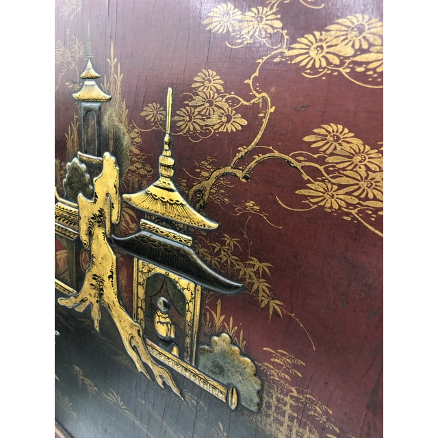 Antique Chinoiserie Bed For Sale - Image 9 of 13