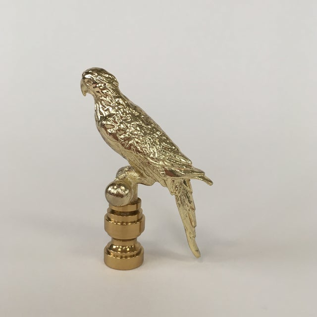 Gold Parrot Finials – Pair For Sale - Image 4 of 6
