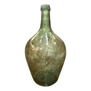 Antique Green Wine Bottle For Sale