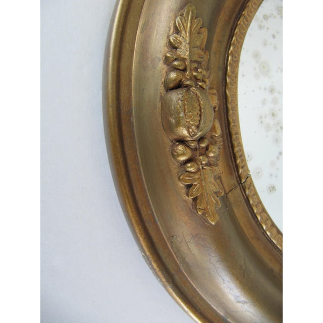 Vintage Fruit & Flower Accent Gold Mirror - Image 10 of 10