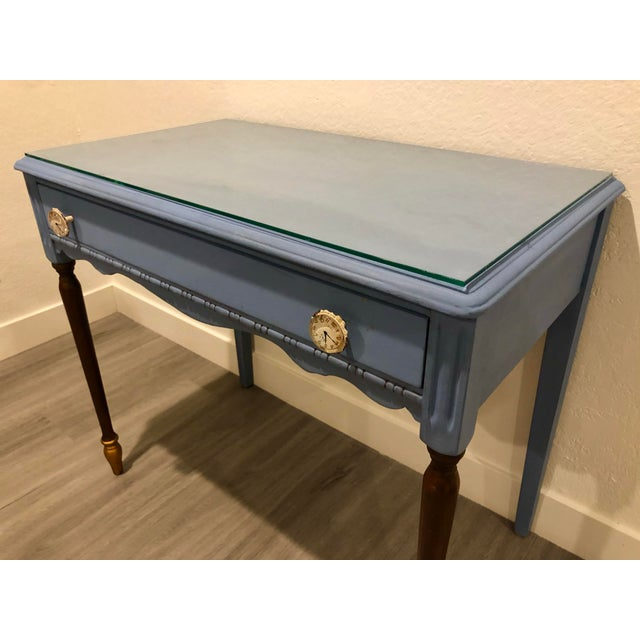 Antique Victorian Refurbished Writing Desk For Sale In Los Angeles - Image 6 of 11