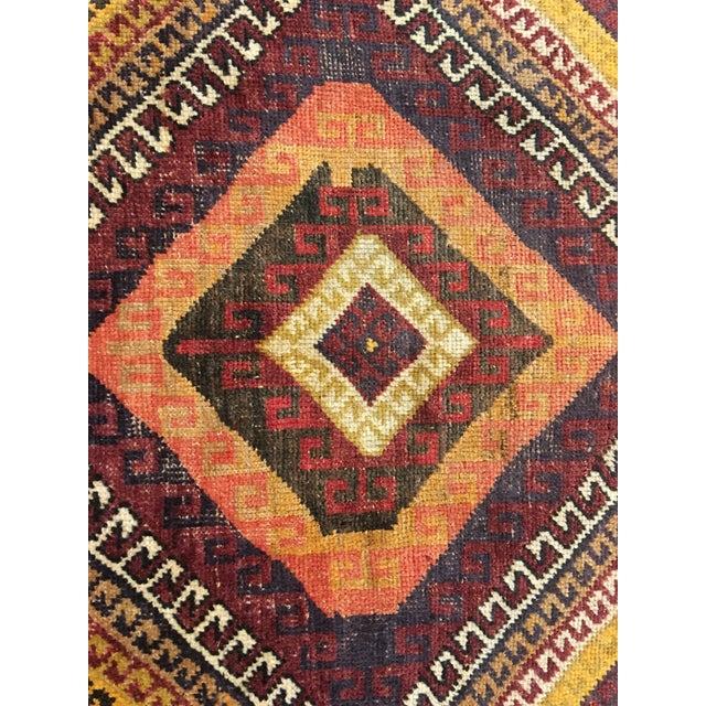 "Bellwether Rugs Vintage Turkish Oushak Rug - 4'1""x8'11"" - Image 6 of 9"
