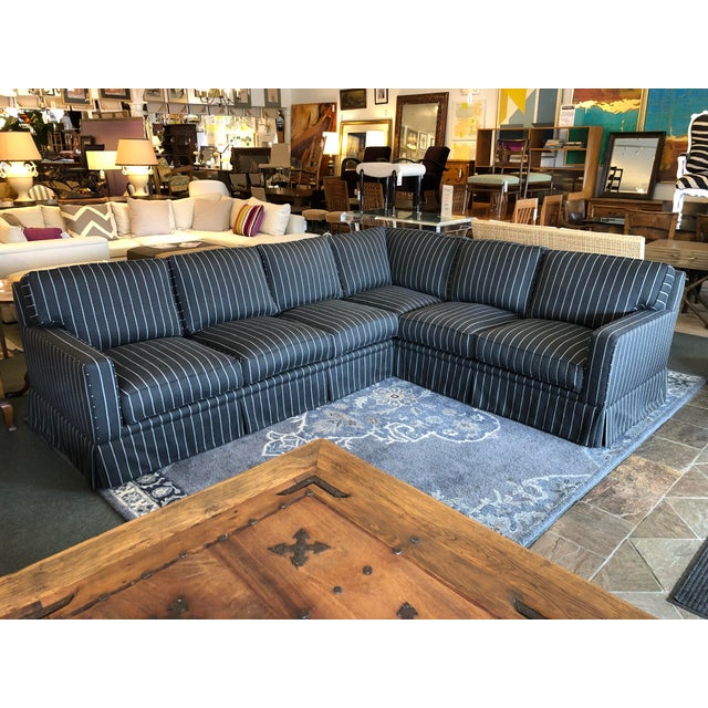 Design Plus Gallery presents the Jasper Sectional by California Sofa. Custom designed and built, the comfortable seating...