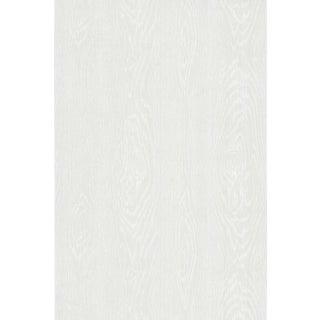Cole & Son Wood Grain Wallpaper Roll - White For Sale