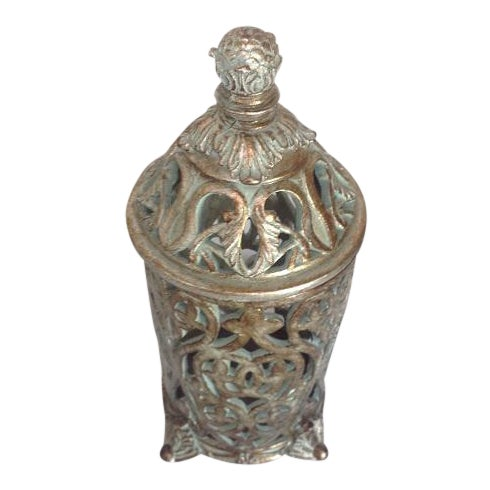 Moroccan Ceramic Candle Holder - Image 1 of 5