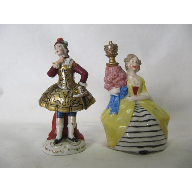Miniature French Perfume Bottles - A Pair - Image 2 of 5