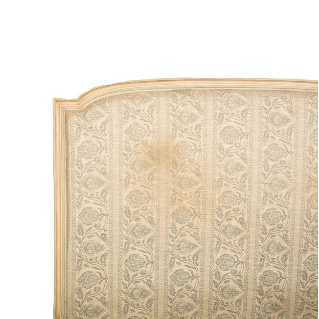 1940s French Louis XVI Style Full Size Painted Bedframe For Sale - Image 4 of 7