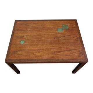 1957 Edward Wormley for Dunbar Walnut Occasional Table