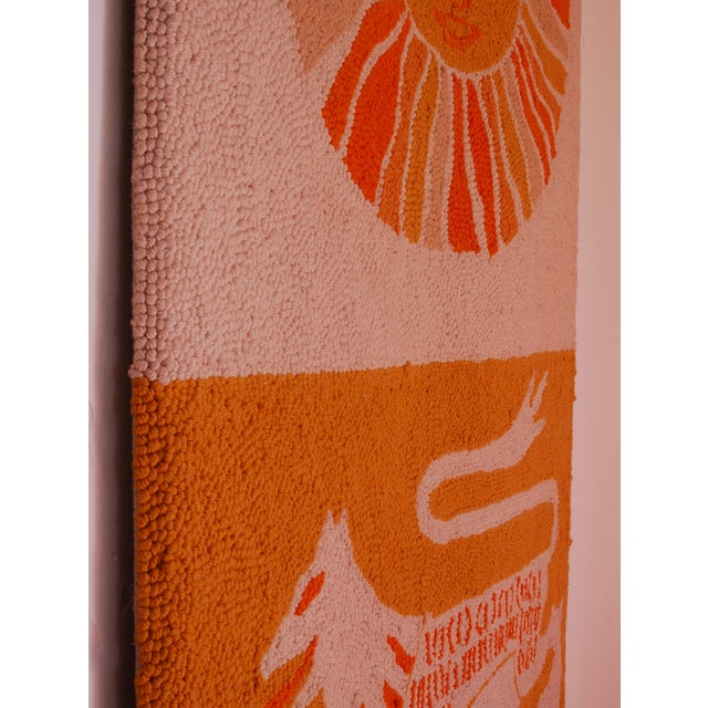 Boho Chic Evelyn Ackerman Sun & Lion Wall Tapestry For Sale - Image 3 of 7