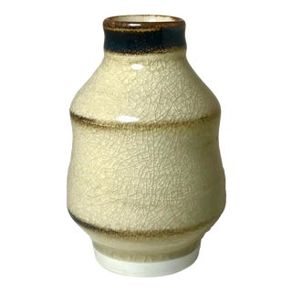 Late 20th Century Asian Style Studio Pottery For Sale