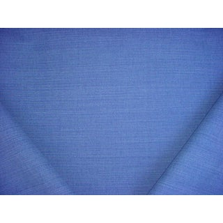 26y Romo 2494 Linara Bilberry Blueberry Linen Union Weave Upholstery Fabric For Sale
