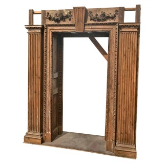Early 18th Century Georgian Pine Architectural Doorway For Sale