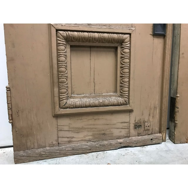 Metal 1880s Monumental Italian Renaissance Architectural Salvage Church Doors - a Pair For Sale - Image 7 of 13