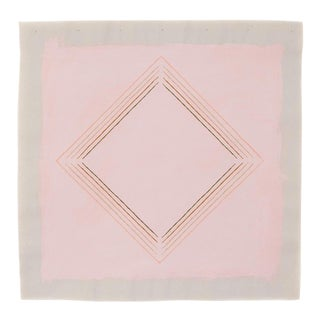 """Abstract Muted Pink Diamond 20"""" Fine Art Print by Emily Keating Snyder For Sale"""