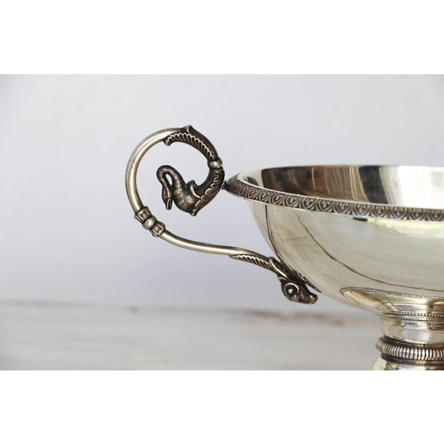 Metal 19th Century Antique Sterling Silver Cup For Sale - Image 7 of 13
