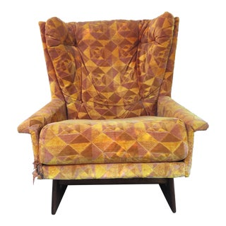 Vintage Mid Century Adrian Pearsall Lounge Chair For Sale