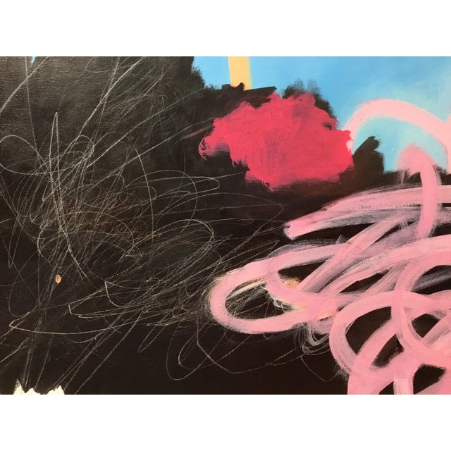 With artworks that combine calligraphic marks and abstractly painted shapes, I explore particular ideas and concepts mined...