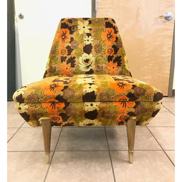 Mid-Century Modern Italian Mid Century Modern Lounge Chair For Sale - Image 3 of 5