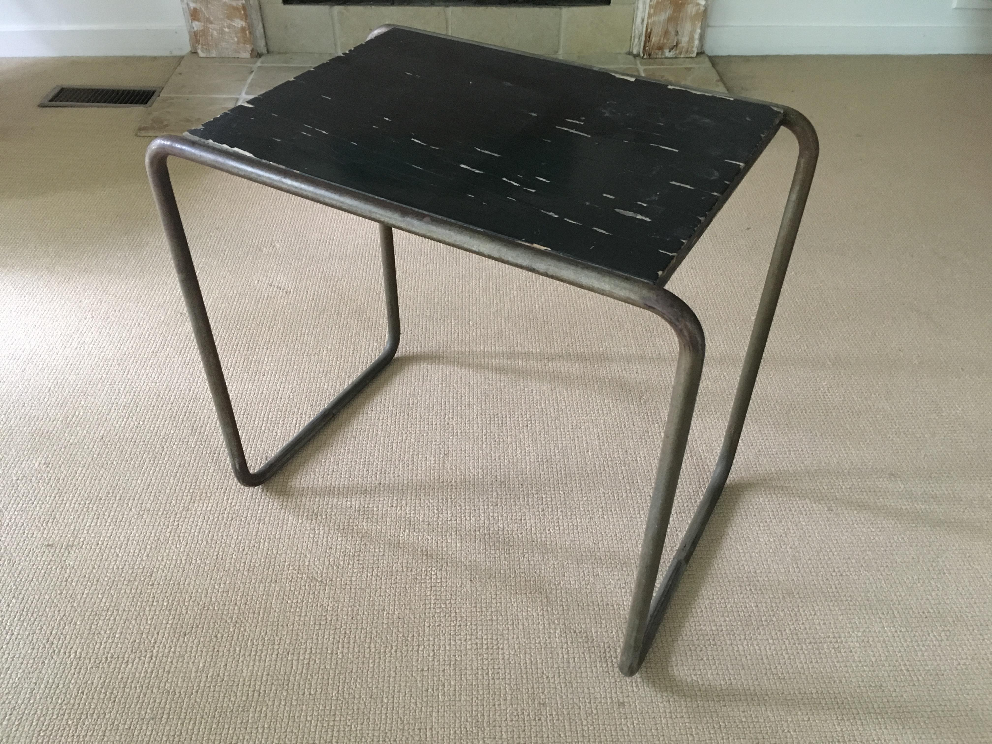 Marcel Breuer Tubular Chrome B9 Side Table 1930u0027s For Mucke And Melder    Image 3 Of