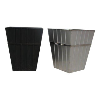 Large Stainless Steel Planters For Sale