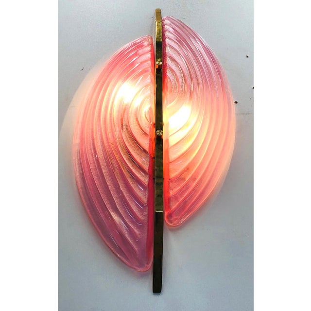 Fabio Ltd Single Luna Rosa Sconce by Fabio Ltd For Sale - Image 4 of 9