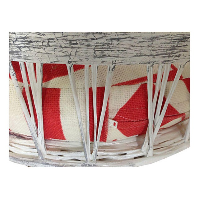 Russell Woodard Spun Fiberglass Barstools with Cushions- A Pair - Image 4 of 5