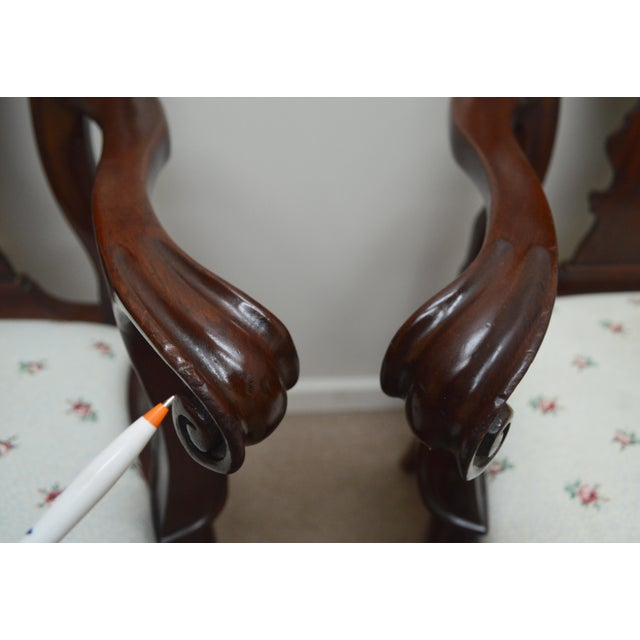 Councill Set of 6 Mahogany Dining Chairs For Sale In Philadelphia - Image 6 of 13