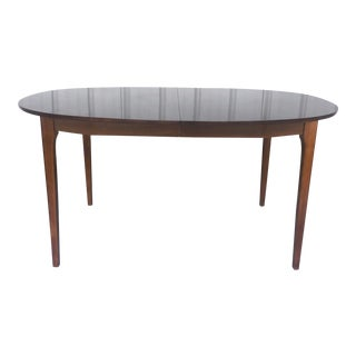 Mid-Century Modern Dining Table With Extra Leaves For Sale