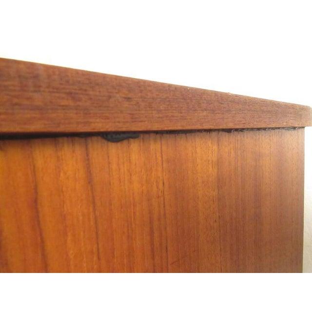 Scandinavian Modern Teak Sideboard or Television Console - Image 8 of 9