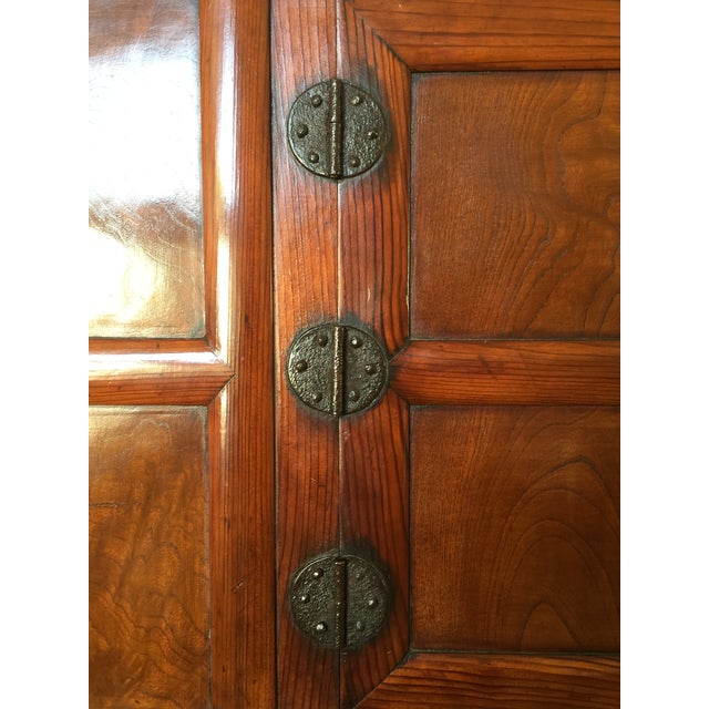 Antique 19th Century Korean | Chinese | Japanese Tansu Cabinet Iron Pulls and Hardware - Image 7 of 9