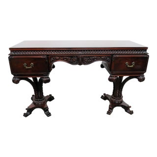 Chinese Chippendale Style Mahogany Vanity