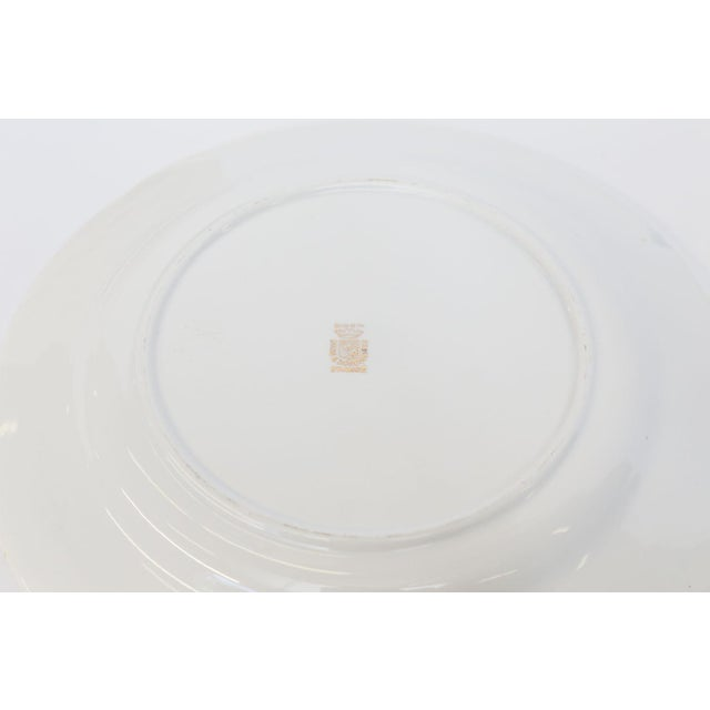 White Set of Twelve Digoin and Sarreguemines Fish Plates For Sale - Image 8 of 9