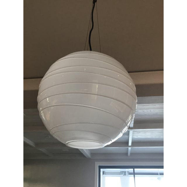 Contemporary Circa Lighting Visual Comfort Hailey Medium Round Pendant Light For Sale - Image 3 of 12