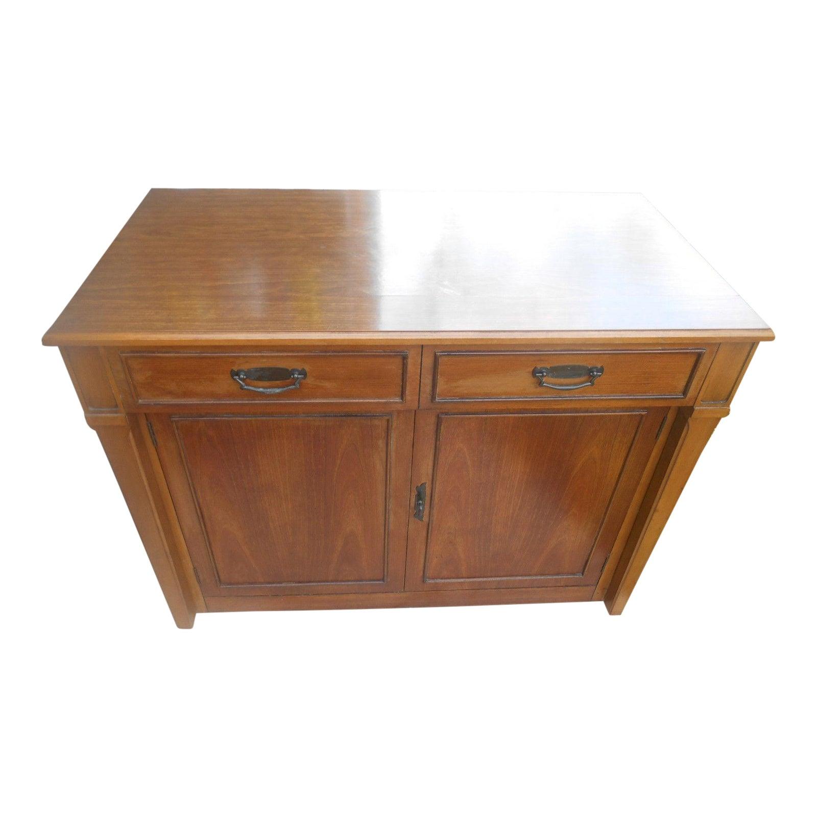 Rare Mid Century Modern Saginaw Furniture 9 1 2 Ft Extending Dining Buffet Table Chairish