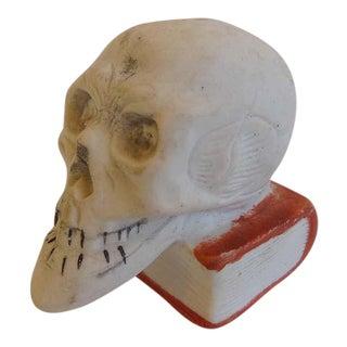 Vintage Skull Match Holder Striker