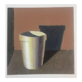 Small Original Studio Still Life Painting on Paper For Sale