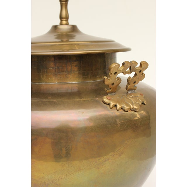 Chapman Brass Asian Table Lamps - A Pair - Image 5 of 7