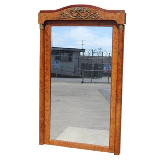 French Empire Style Mirror For Sale