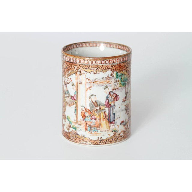Late 18th Early 19th Century Chinese Export Mugs / Tankards For Sale - Image 10 of 13