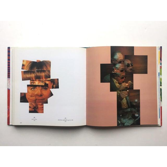 "Paper "" David Hockney a Retrospective "" 1st Edtn Vintage 1988 Collector's Hardcover Art Exhibition Book For Sale - Image 7 of 12"