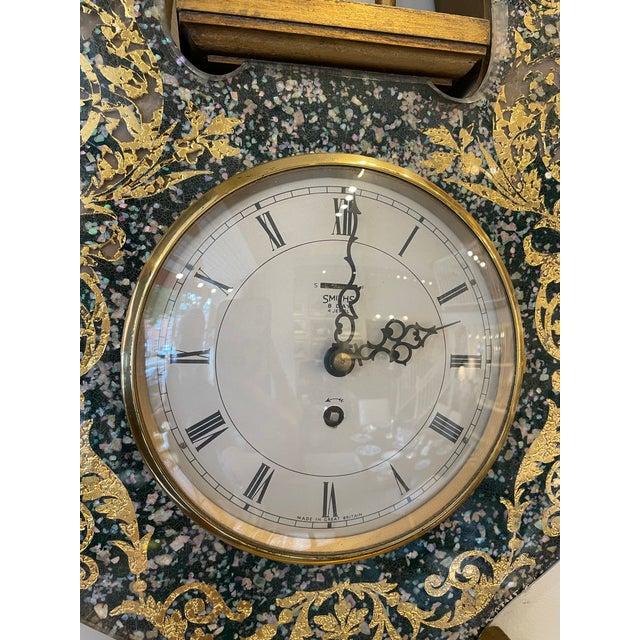 English 1950s English Wall Clock For Sale - Image 3 of 8