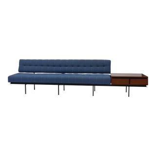 Minimalist Sofa and Cabinet by Florence Knoll