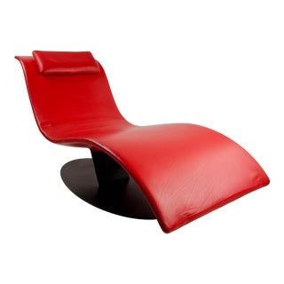 Jai Jalan Minimalist Eli Fly Chaise Lounge by Desiree For Sale