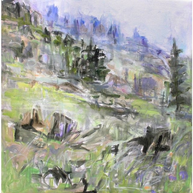 """Alpine Spring"" Abstract Painting by Trixie Pitts - Image 1 of 3"