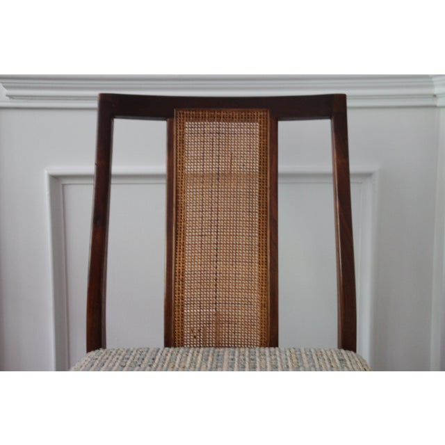 Mid-Century Hibriten Cane Back Chairs - Set of 6 - Image 10 of 11