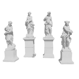 The Four Seasons on Plinths