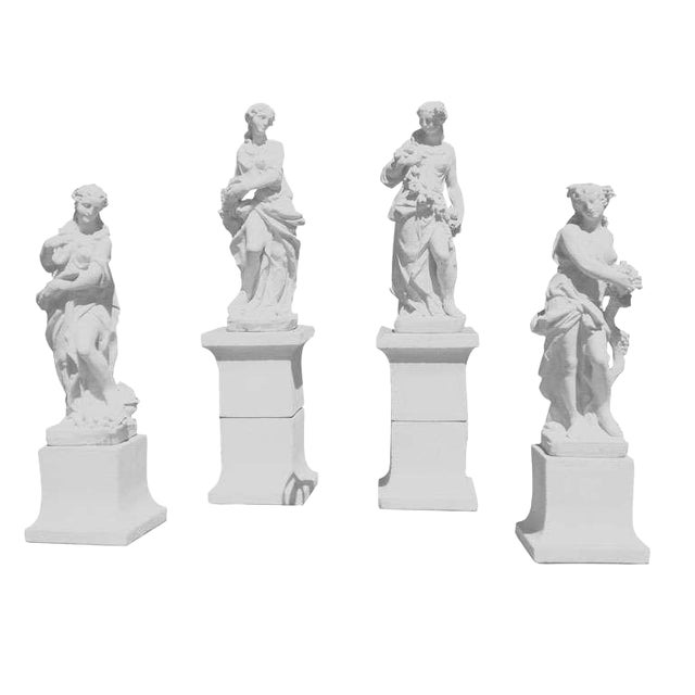 The Four Seasons on Plinths For Sale