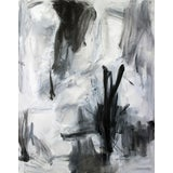 """Image of """"Mystical Morning"""" by Trixie Pitts Large Abstract Expressionist Oil Painting For Sale"""