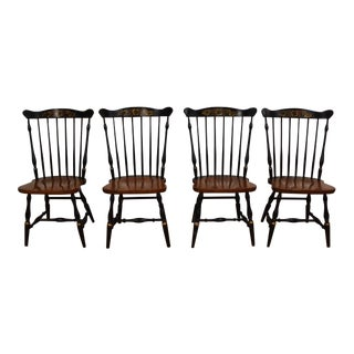 Hitchcock Maple Dining Chairs For Sale